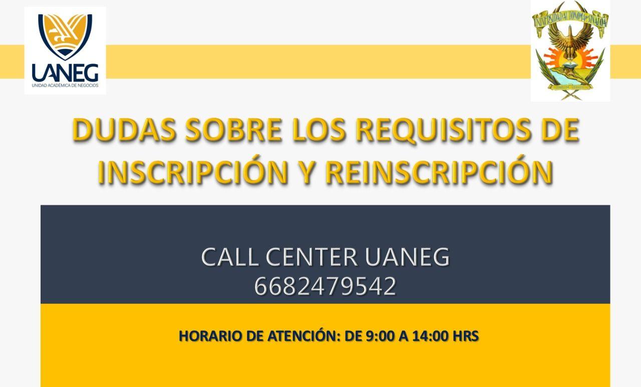 Call Center UANEG